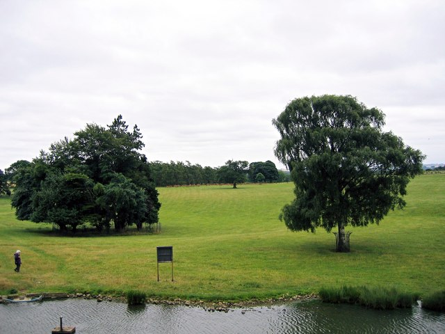 The Grounds of Raby Castle