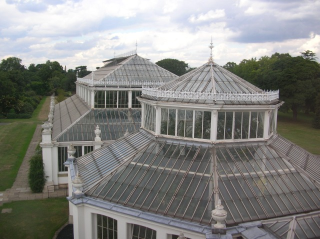 Temperate House roof
