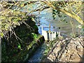SU1868 : Sluice-gate, River Kennet, Marlborough by Brian Robert Marshall