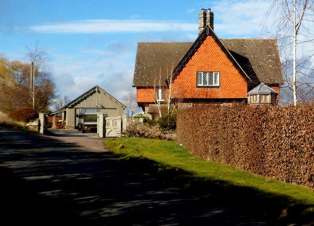 Grade II listed South Lodge, Goodrich