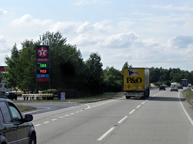 Westbound A120, Ardleigh South Services