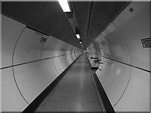 TQ3280 : London Bridge underground station, lift access by Stephen Craven