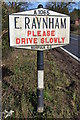 TF8825 : Pre-Worboys Village Name Sign by Keith Evans