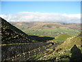 SK1283 : Northwards to Kinder-Mam Tor, Castleton, Derbyshire by Martin Richard Phelan