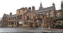NS5666 : Glasgow University main gatehouse by Thomas Nugent