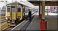 SE5703 : Doncaster station, Up side 1997 by Ben Brooksbank