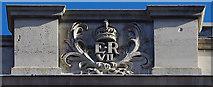 TQ2881 : Royal cypher, Wimpole Street by Julian Osley