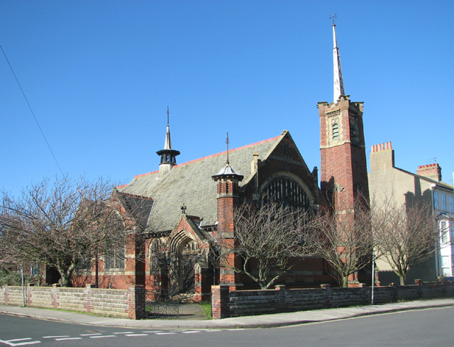 The former South Cliff United Reformed church by Evelyn Simak