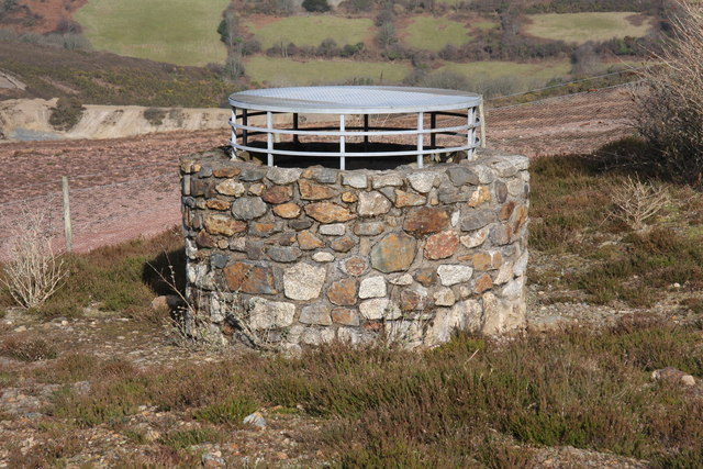 Capped Mine Shaft, Wheal Maid Valley