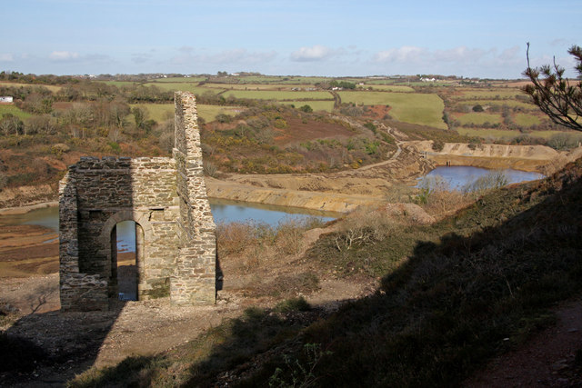 Wheal Virgin Engine House (Remains)
