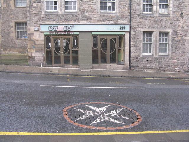 St John's Cross on the High Street