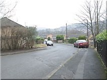 SE0726 : Langdale Crescent - Greenroyd Lane by Betty Longbottom