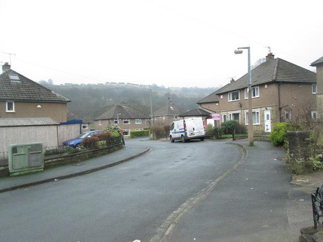 Meadow Lane - viewed from Meadow Drive