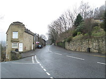 SE0726 : Wheatley Road - viewed from City Lane by Betty Longbottom