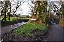 SS9502 : Mid Devon : Road Junction & Silverton Sign by Lewis Clarke