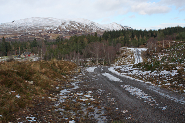 Forestry track, Ardverikie