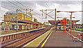 TL2401 : Potters Bar station, ECML 1993 by Ben Brooksbank