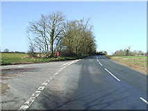 TM2573 : Road Junction by Keith Evans