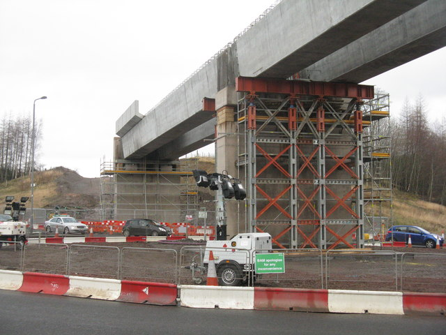 New bridge at Hardengreen