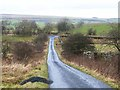 NY8279 : Road junction below Hexside Hill by Oliver Dixon