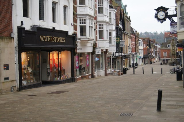 An empty High Street