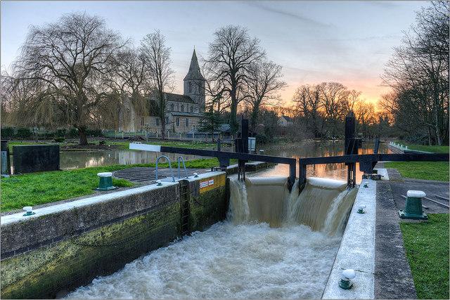 Water Newton Lock