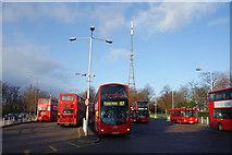 TQ3370 : Crystal Palace Bus Station by Bill Boaden