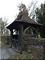 TM4489 : All Saints Church Lych Gate by Adrian Cable