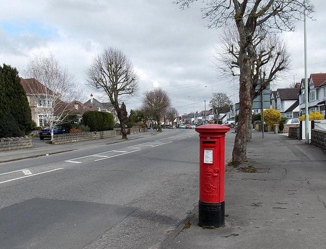 Marlborough Road east of Broome Manor Lane, Swindon