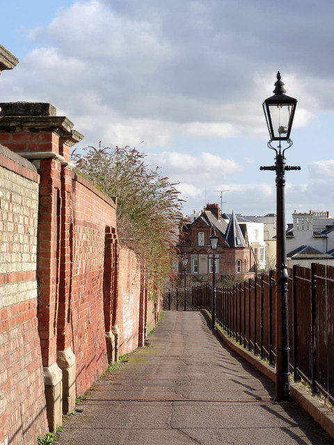 Newcastle Terrace at the 'back' of The Ropewalk