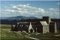 NM2824 : Iona Abbey by Russel Wills