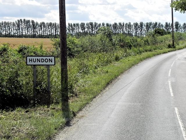 Hundon, Stradishall Road (B1063)