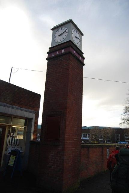Clock Tower, Bury Bolton Street Station