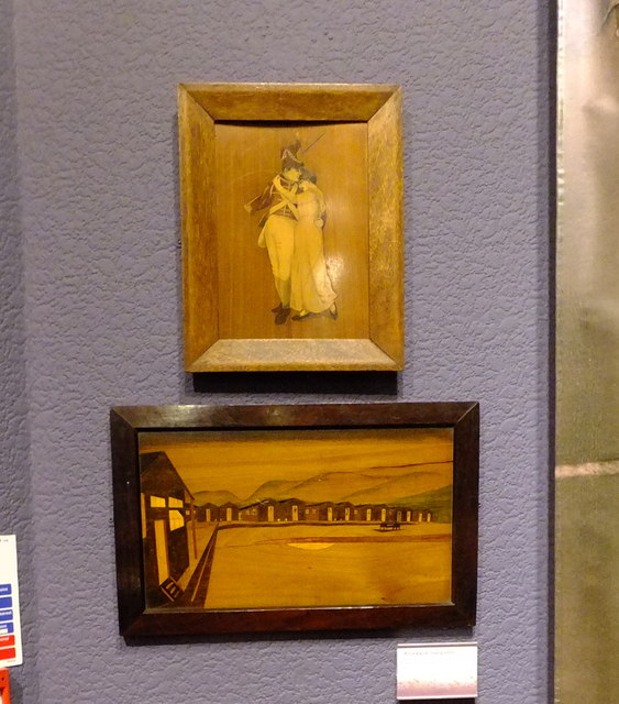 Marquetry by internees of First World War