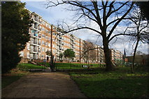 TQ3473 : Lordship Lane Flats, East Dulwich by Bill Boaden