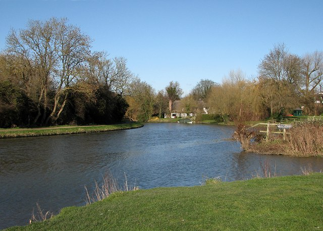Fen Ditton: a bend in the river