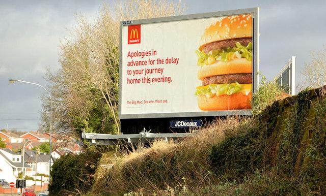 """""""Big Mac"""" poster, Lambeg"""
