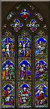TG0135 : East window, St Mary's church, Gunthorpe by J.Hannan-Briggs