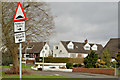 "J2666 : ""Road humps"" sign, Lisburn by Albert Bridge"
