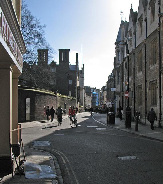 The corner of Jesus Lane