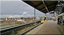 SJ8297 : Cornbrook Metrolink station by Chris Morgan