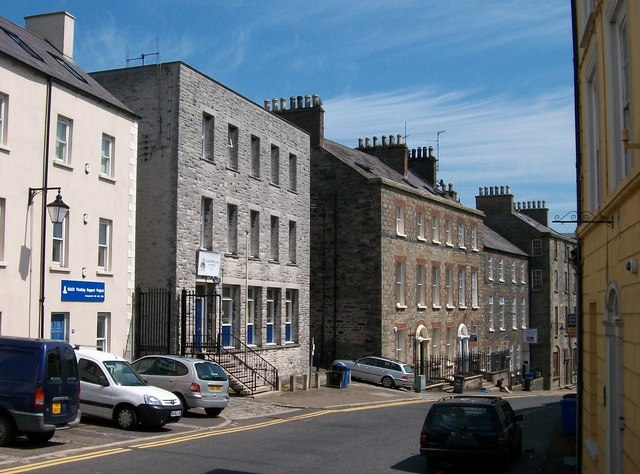 Solicitors' offices in English Street, Downpatrick