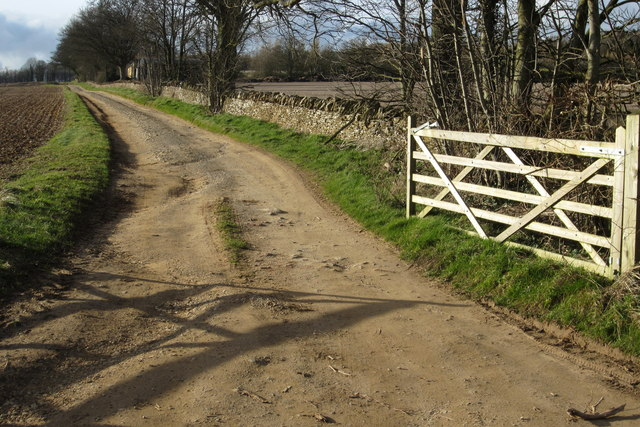 Track up to Long Barrow