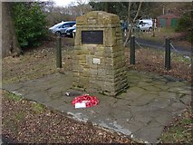 SU9363 : Windlesham Fields of Remembrance by Alan Hunt