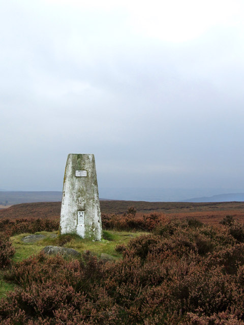 Harland South Ordnance Survey Trig Pillar (Passive Station)