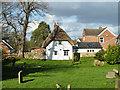 SP6423 : Thatched cottage, Marsh Gibbon by Robin Webster