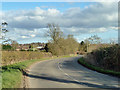 SP6926 : The road to Steeple Claydon by Robin Webster