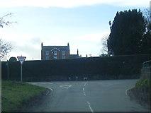SJ3653 : Borras Road nears Hoseley Lane junction by Colin Pyle