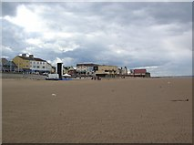 NZ6025 : Redcar beach by DS Pugh
