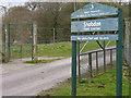 SO3963 : Entrance to Shobdon Field Station by Trevor Littlewood